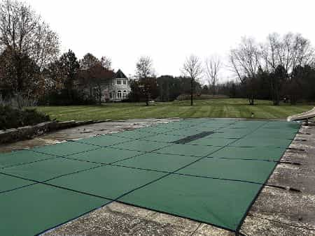 Water Warden Winter Pool Cover