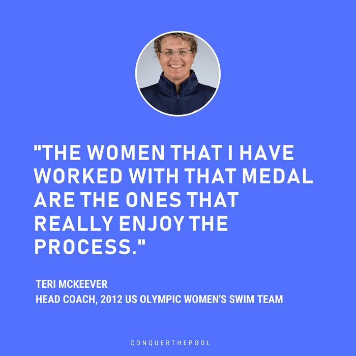 Citations de l'entraîneur de natation Teri Mckeever