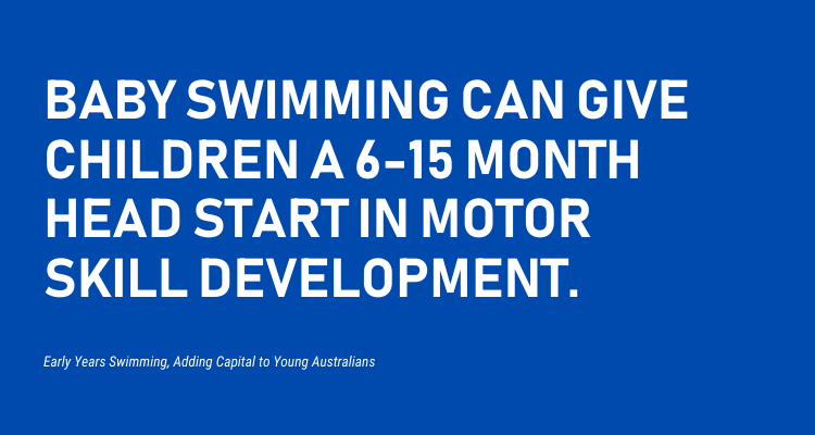 Does Baby Swimming Improve Motor Control