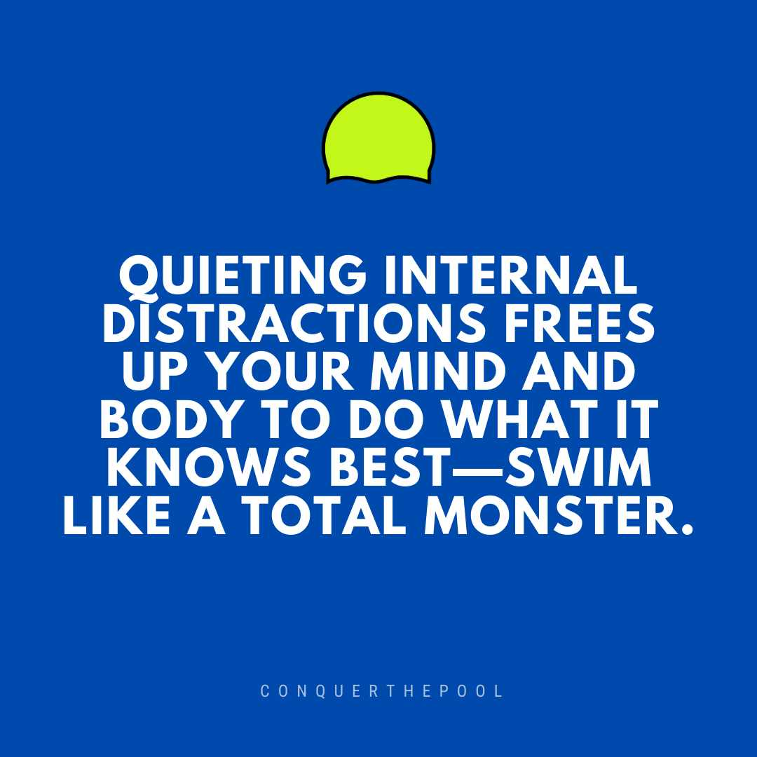How Swimmers Can Manage Internal and External Distractions