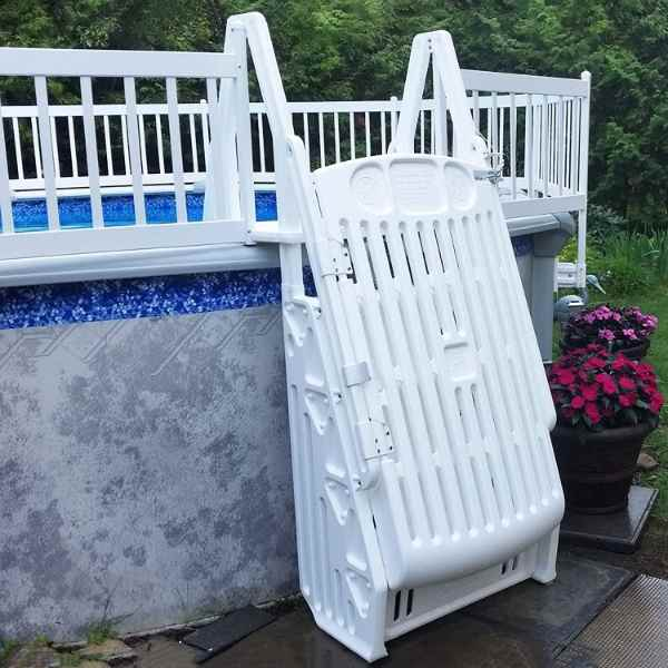 Blue Wave Pool Ladder with Safety Gate