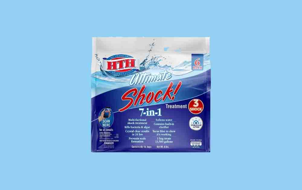 HTH Ultimate Pool Shock and Chlorine Cleaner