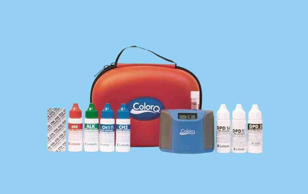 LaMotte Color Q Pro 7 Digital Pool Tester