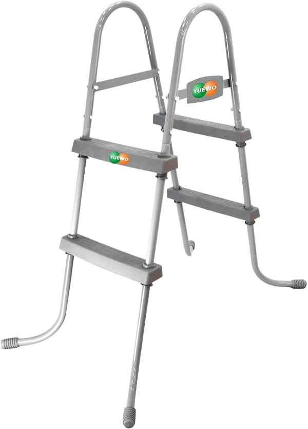 YUEWO Steel Frame Pool Ladder for Above Ground Pools