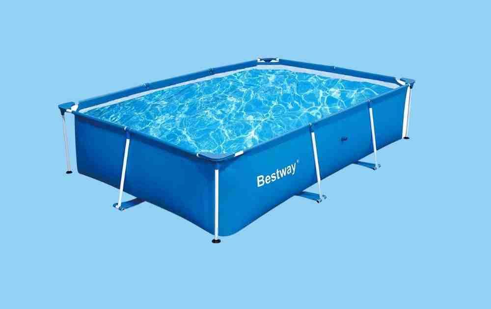Bestway Deluxe Splash Rectangular Above Ground Pool