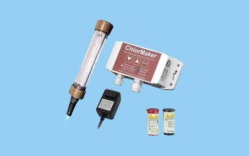 ChlorMaker Salt Water Chlorinator for Hot Tubs and Spas
