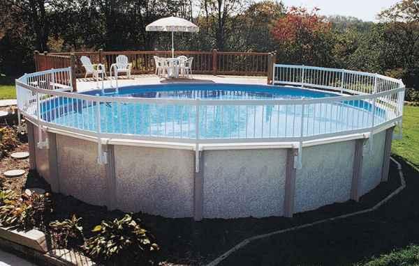 GLI Above Ground Swimming Pool Fence