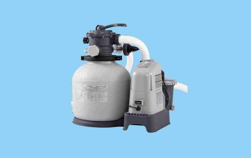 Intex Krystal Clear Sand Filter Pump and Chlorinator