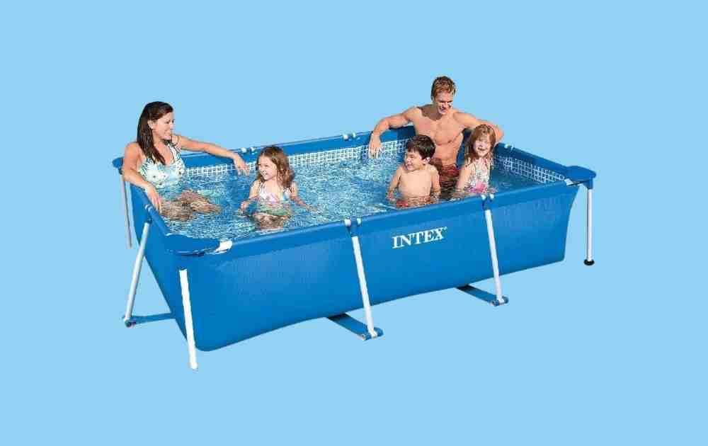 Intex Rectangular Frame Safe Splash Pool