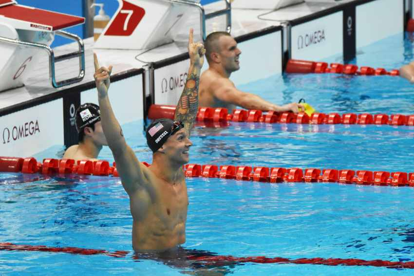 The Mental Strategy Caeleb Dressel Used to Win Five Olympic Gold Medals