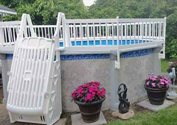 VinylWorks Above-Ground Swim Pool Fence Kit