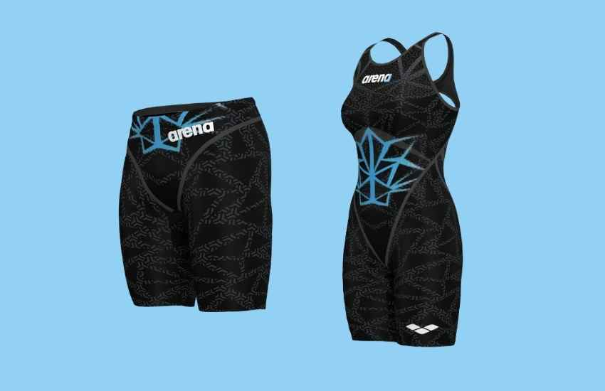 Arena Powerskin Carbon Core FX Tech Suits for Sprinters