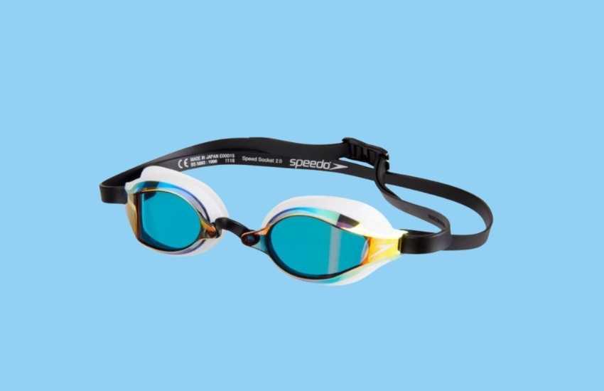 Best Competition Swim Goggles - Speedo Speed Socket 2.0 Goggles