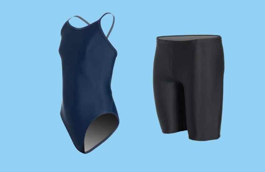 Best Swimwear for Triathlon - iSwim Essential Solid Swimsuits