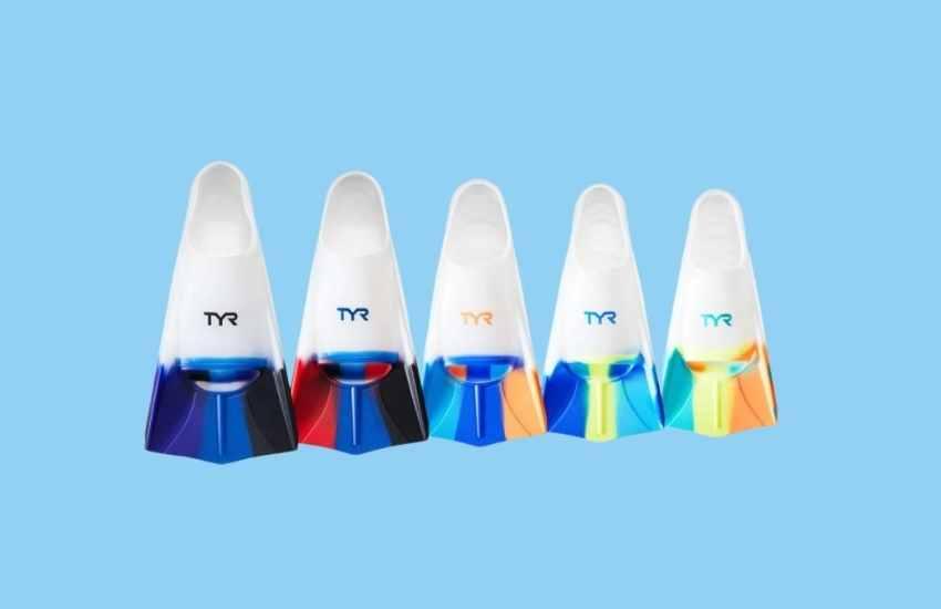 TYR Stryker Silicone Swim Fins for Kids